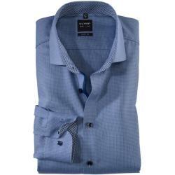 Photo of Olymp Level Five Shirt, body fit, Royal Kent, Bleu, 38 Olymp