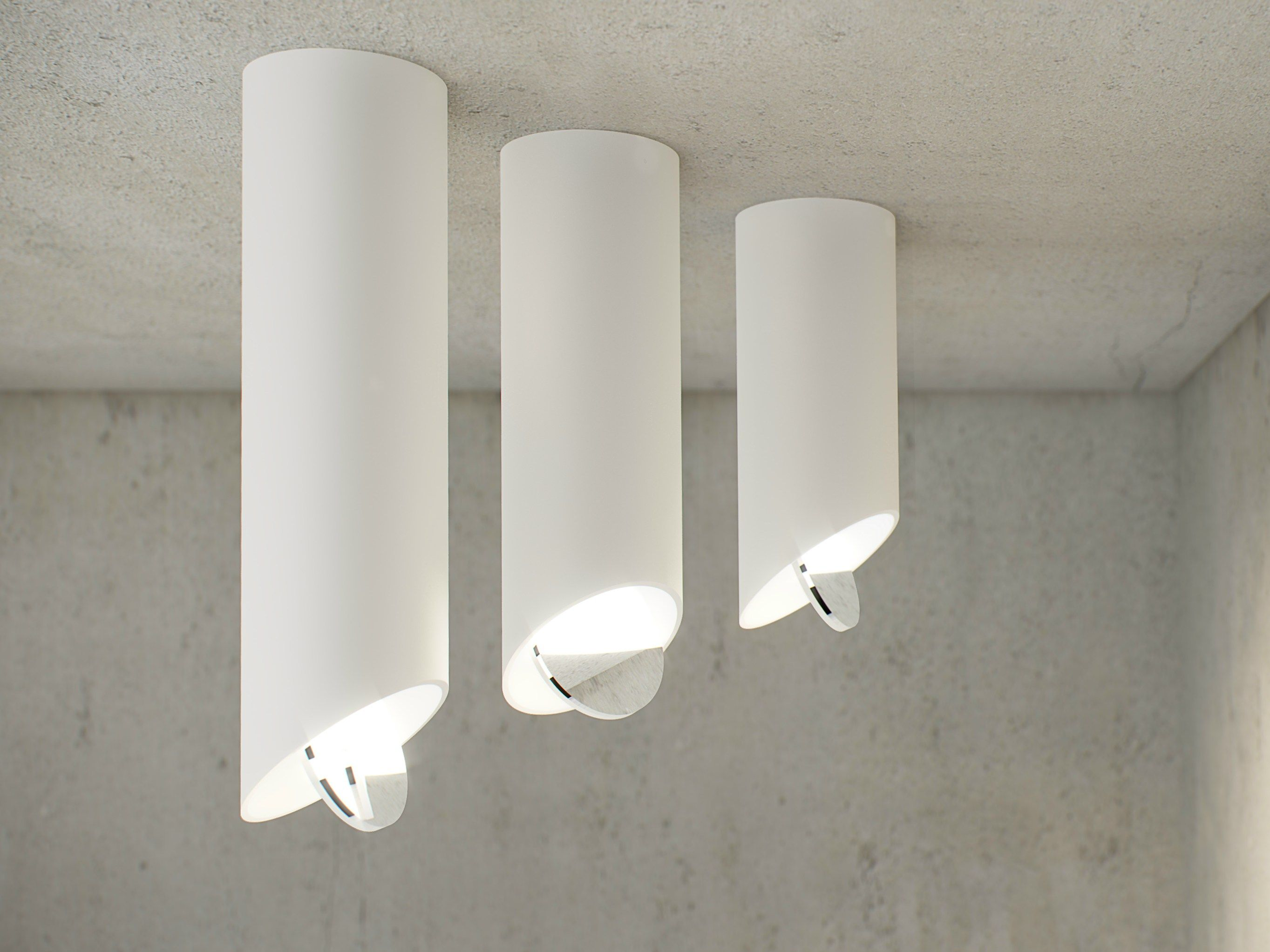 Led Ceiling Lamp Znow By Dark At Night Design Anthony Boelaert Led Ceiling Spotlights Ceiling Lamp Led Ceiling Lamp