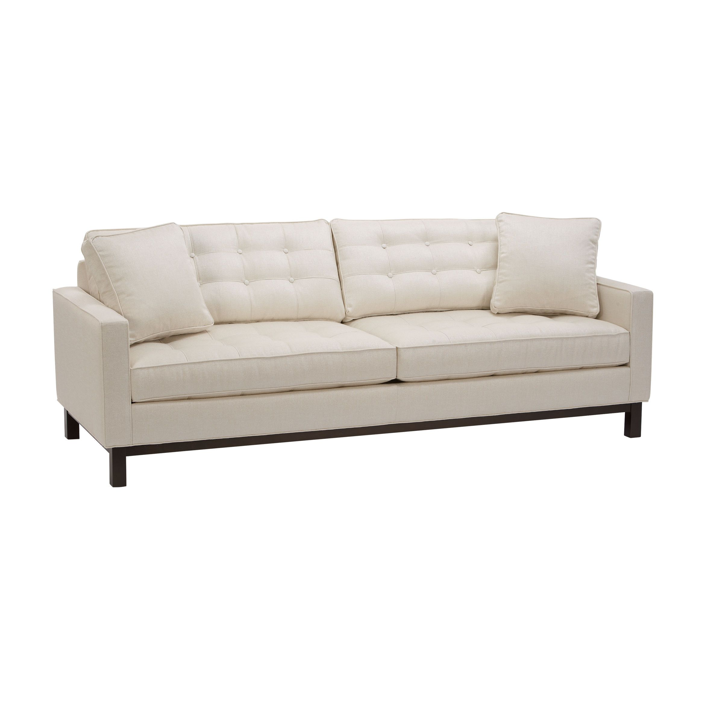Melrose 87 Sofa Ethan Allen Us Sofa Styling Tufted Leather