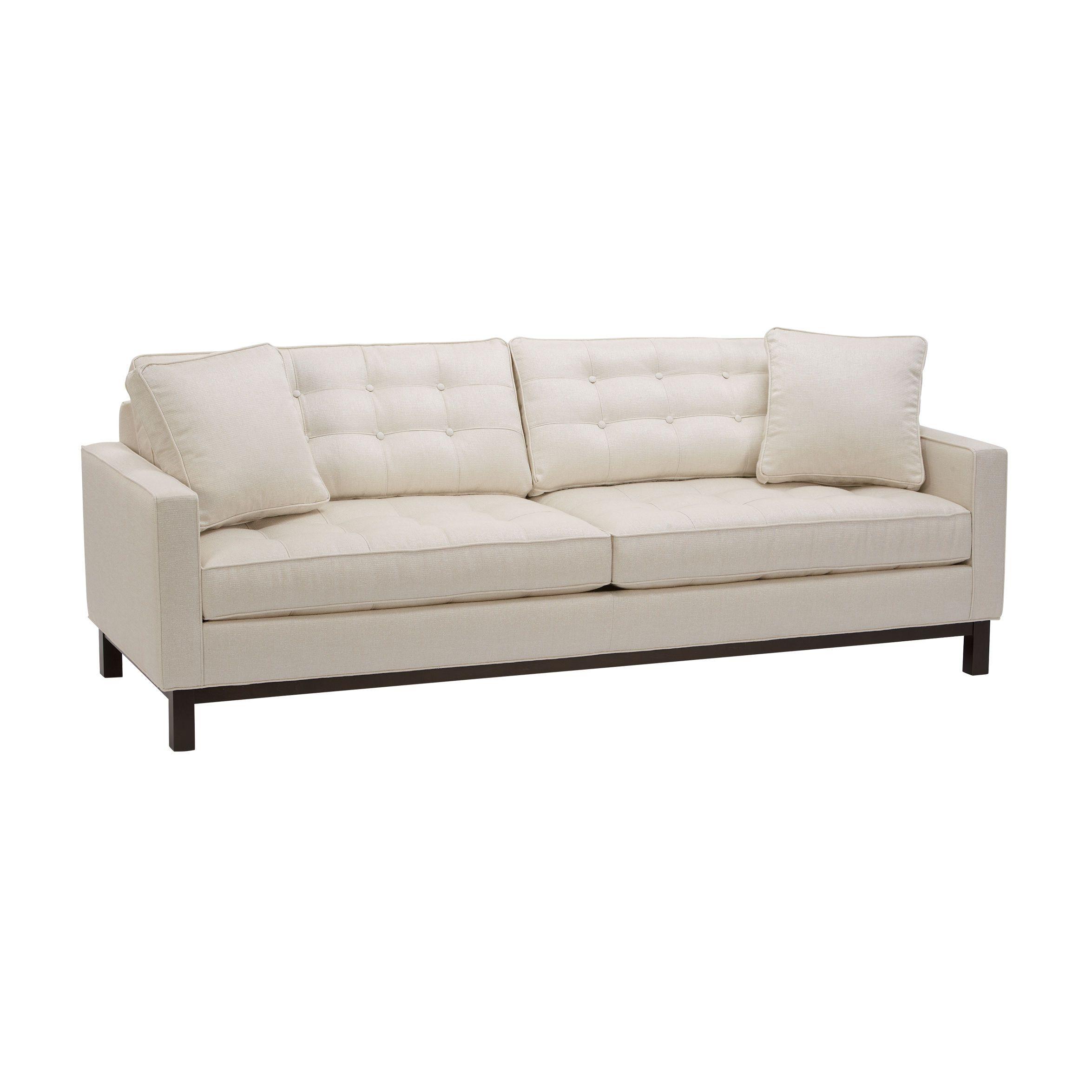 Ethan Allen 39 S Newest Modern Sofa The Melrose Ethan Allen Furniture Ethan Allen Sofas Ethan