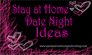 Enter Under My Roof: HSN: 10 (Stay at Home) Date Night Ideas by Heather Bowen