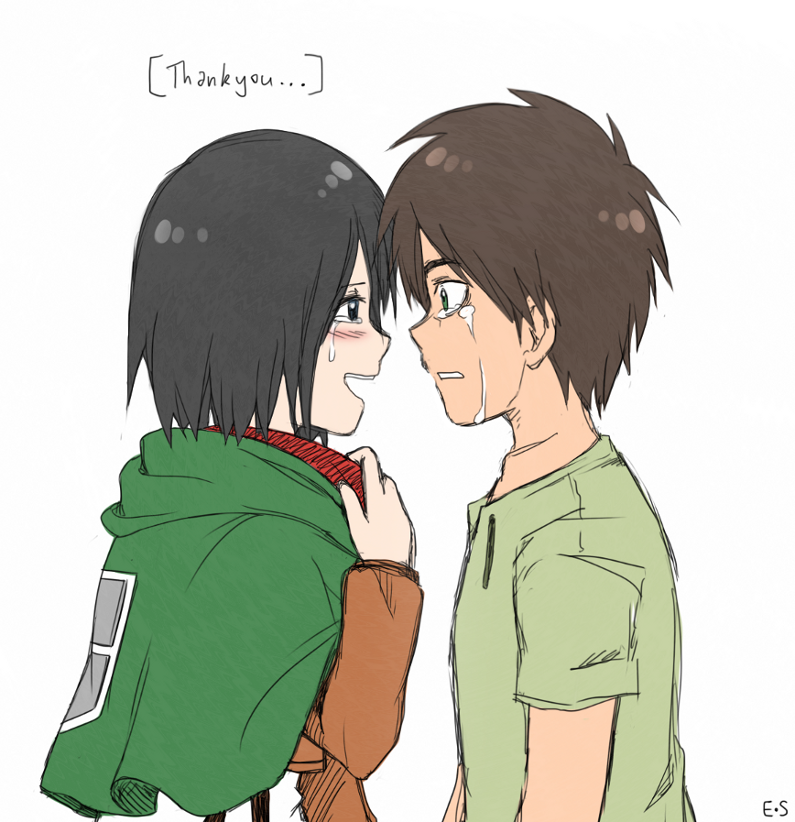 Arghhh I promised myself I wouldn't look further into the manga, I like watching the anime and being surprised... but alas I ended up on tumblr looking at the Mikasa tag And pretty soon I saw chapt...