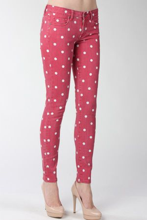 Polka dot red paige jeans r29summerstyle summer style pinterest polka dot red paige jeans r29summerstyle sisterspd