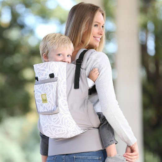 Lillebaby CarryOn Original Toddler Carrier - Frosted Rose