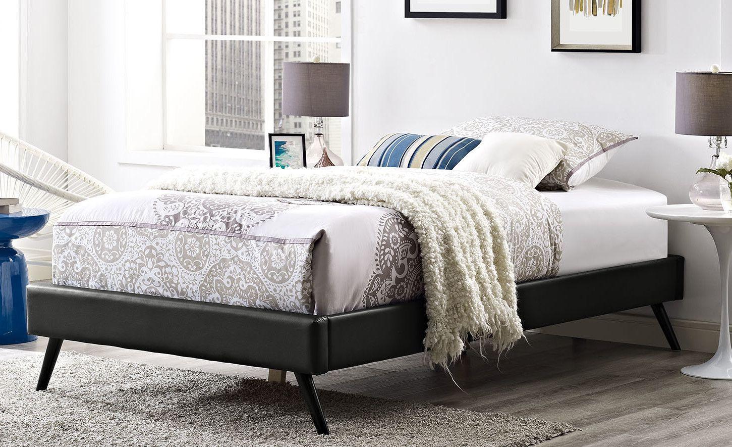 Helen Platform Bed Twin platform bed, Home decor