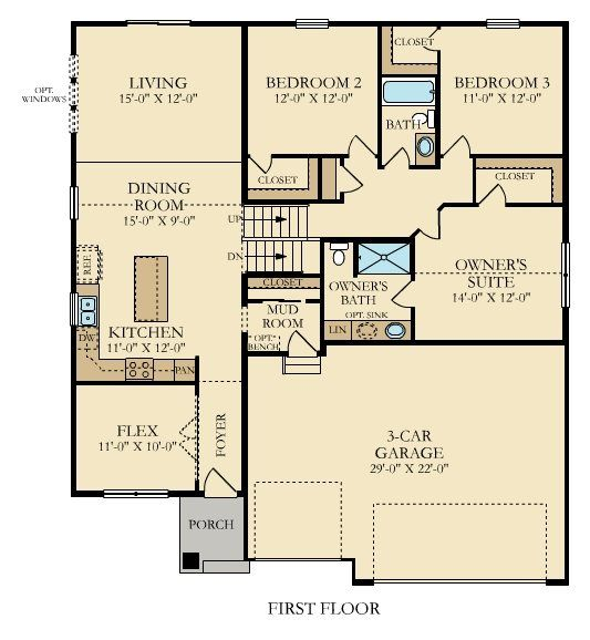 Introducing The Clark Split Level Just Released In The Woodlands Of Ramsey Mn Floor Plans Lennar Split Level