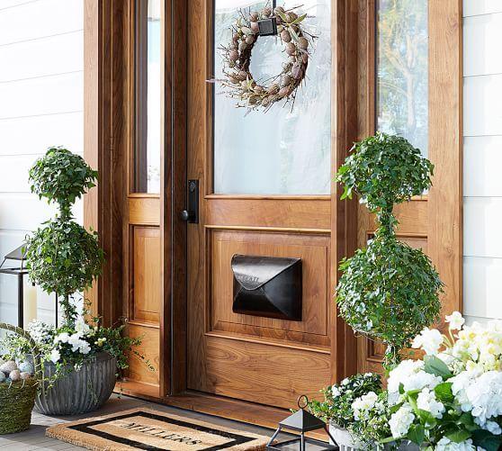 Envelope Mailbox Front Door Design Door Wreath Hanger Door Design