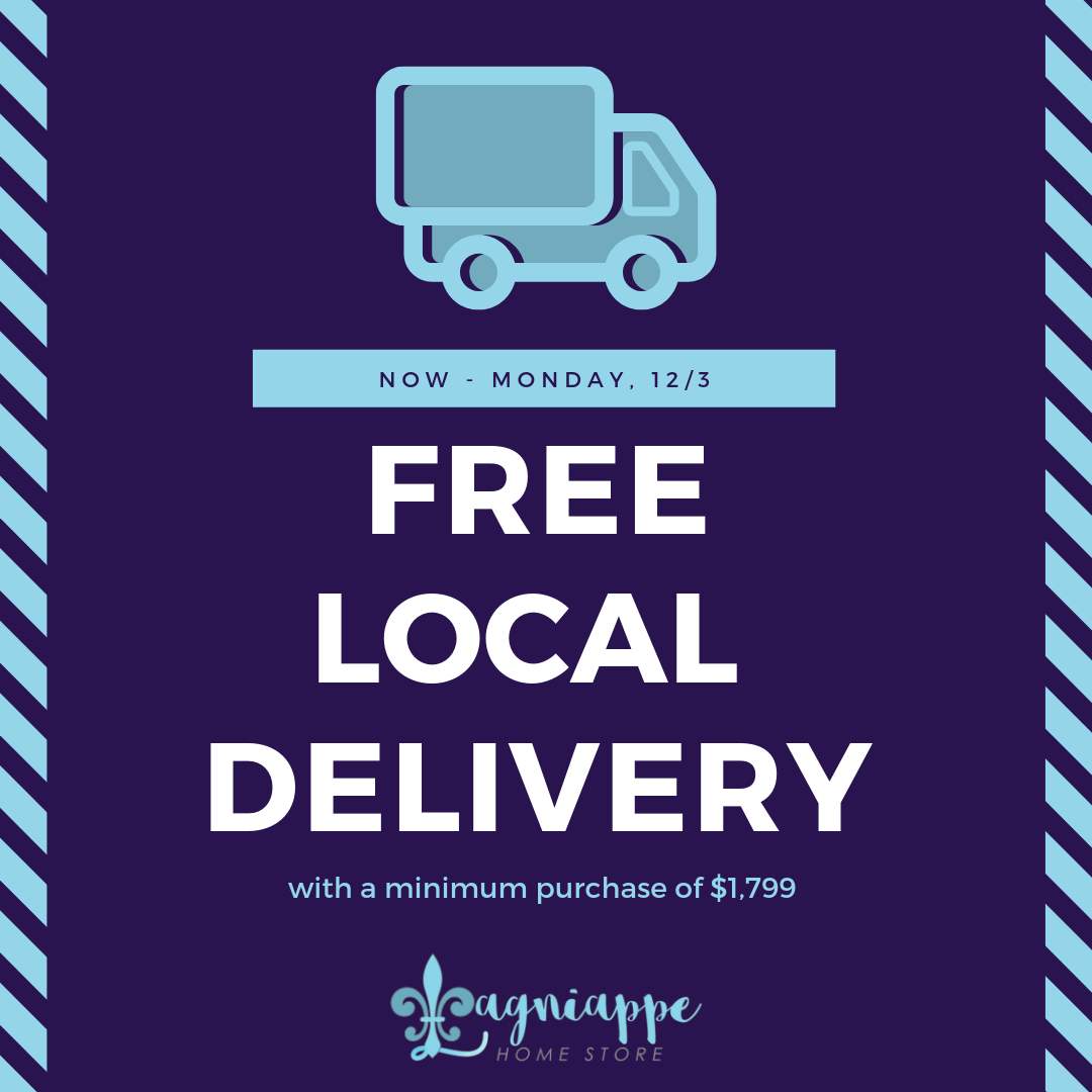 Free Local Delivery With A Minimum Purchase Of 1 799 Come By Our