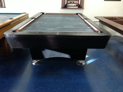 charcoal table diamond pool tables am thailand in black pro pooltable by