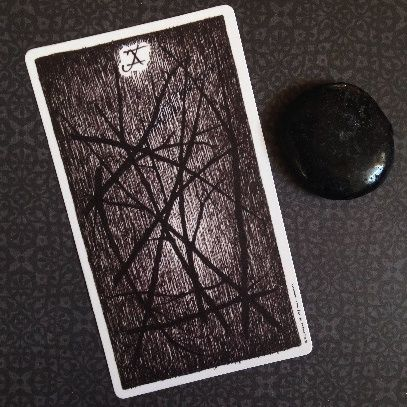 Risultati immagini per wild unknown tarot ten wands