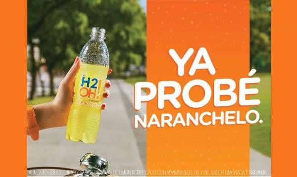 H2OH!® NARANCHELO® es deliciosa, ¡no seas el último en enterarte!
