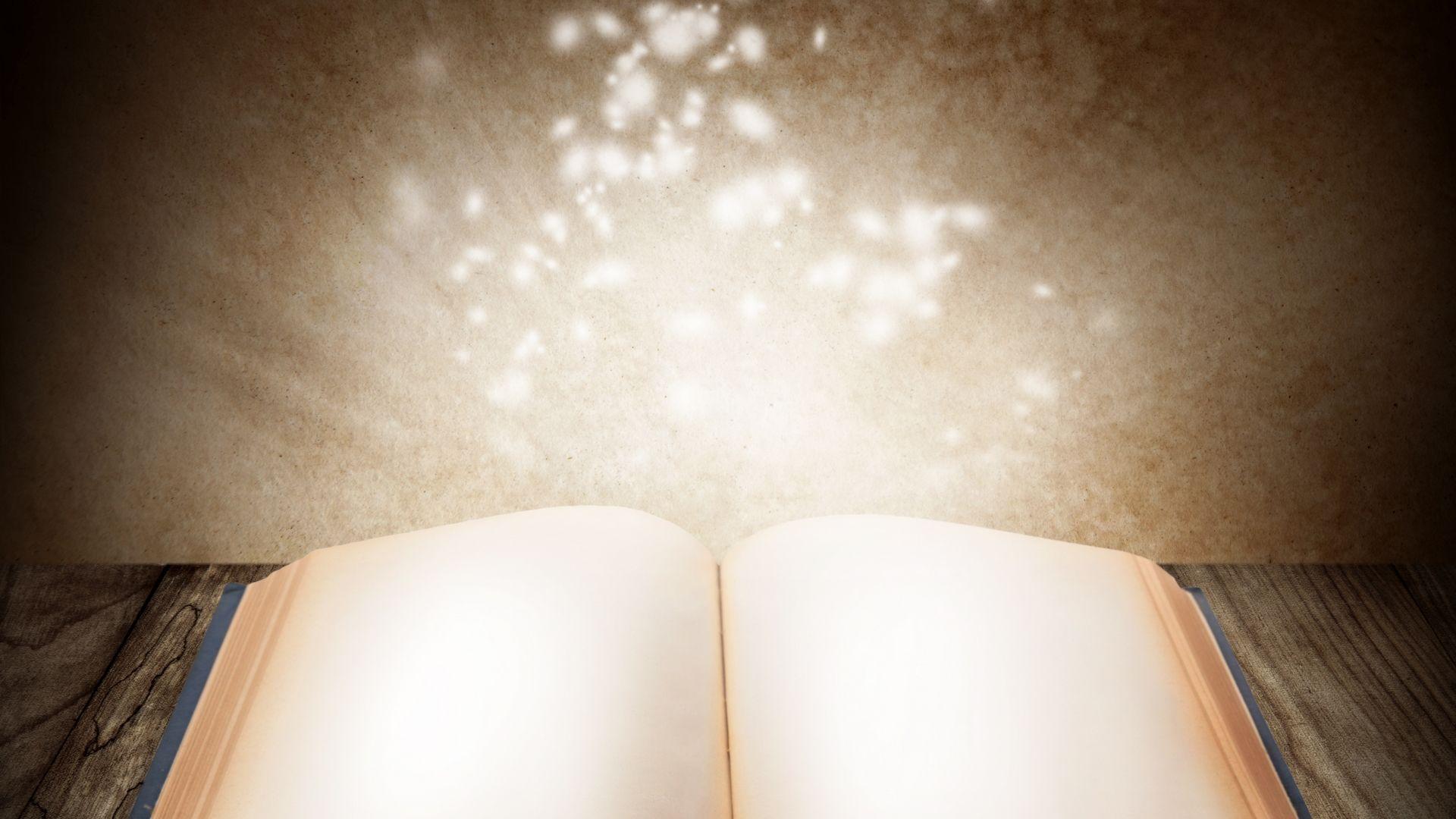wallpapersOpen Book Desktop Wallpaper