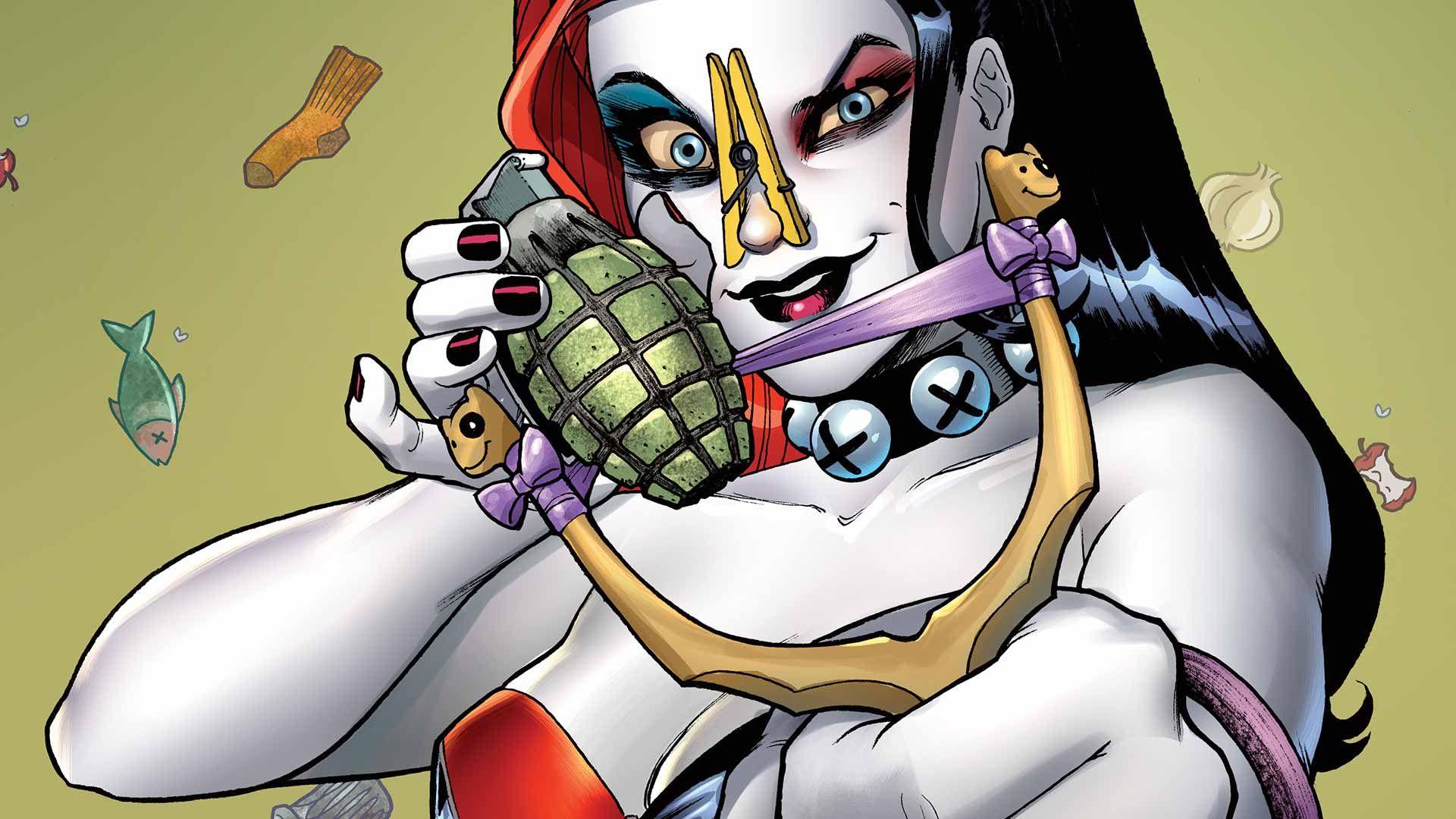 HARLEY QUINN ANNUAL #1   DC Comics