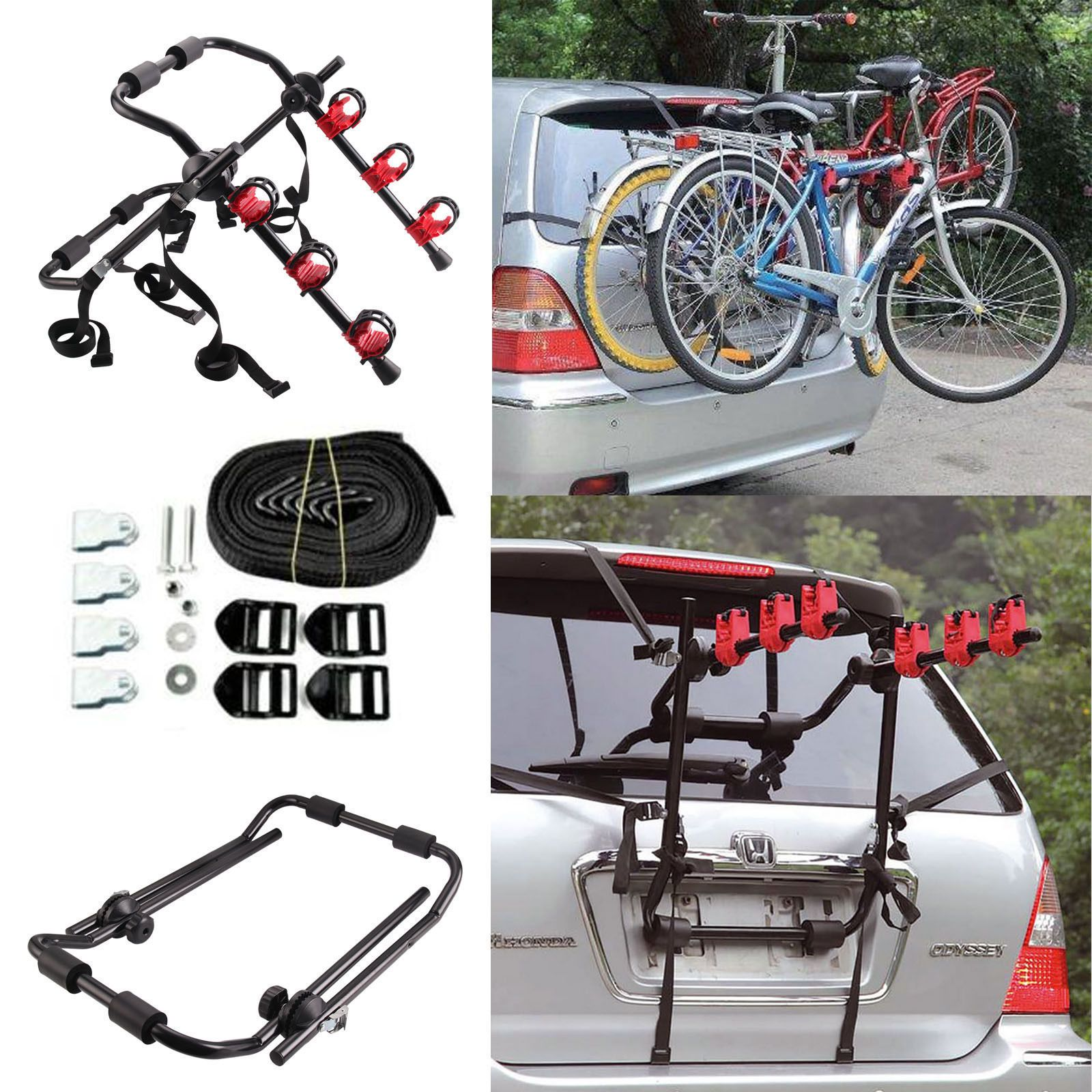rack bicycles hitch theft and bike powder black steel anti resistant pin bicycle mount truck down car swing rust for suv carrier bikes coated lock key
