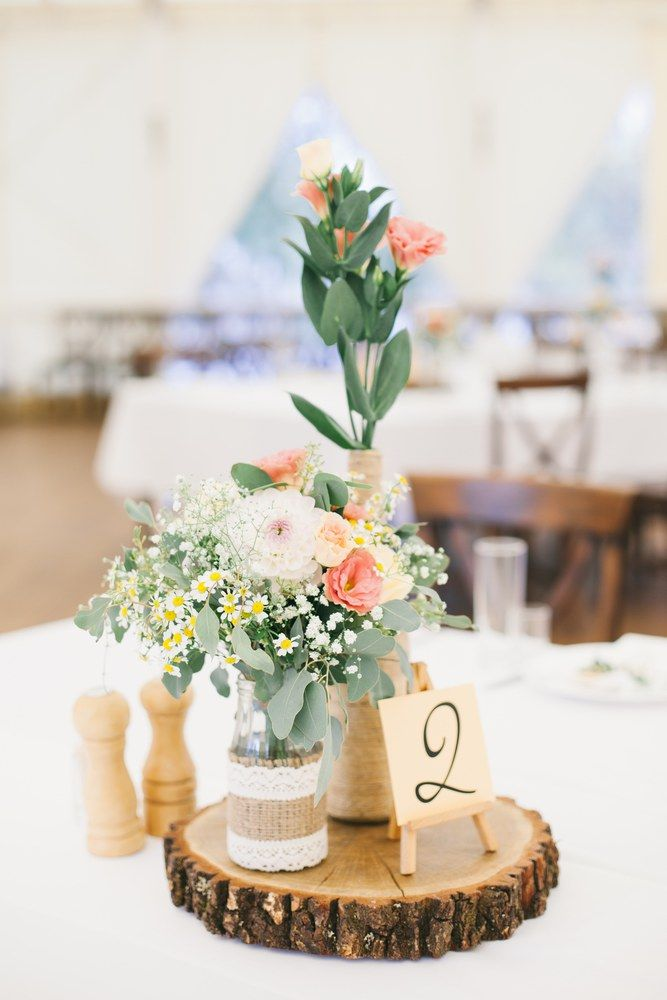 Served wedding table