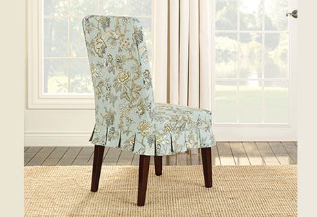 Terrific Sure Fit Slipcovers Casablanca Rose Dining Chair Slipcover Uwap Interior Chair Design Uwaporg