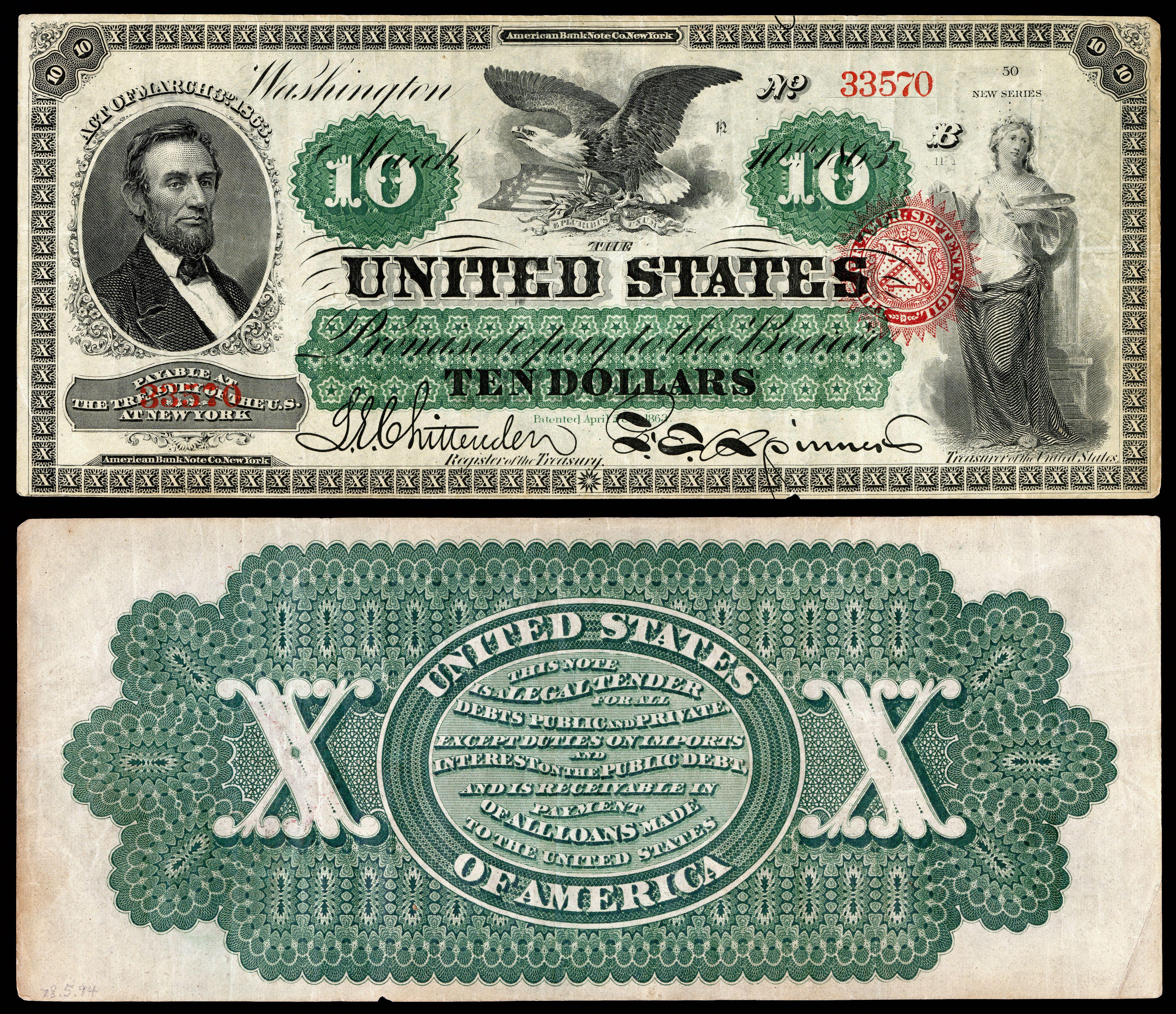 Image Result For Free Printable Ten Dollar Bill