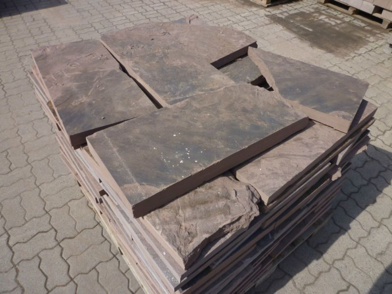 polygonalplatten gehwegplatten trittsteine naturstein sandstein terrasse trittsteine. Black Bedroom Furniture Sets. Home Design Ideas
