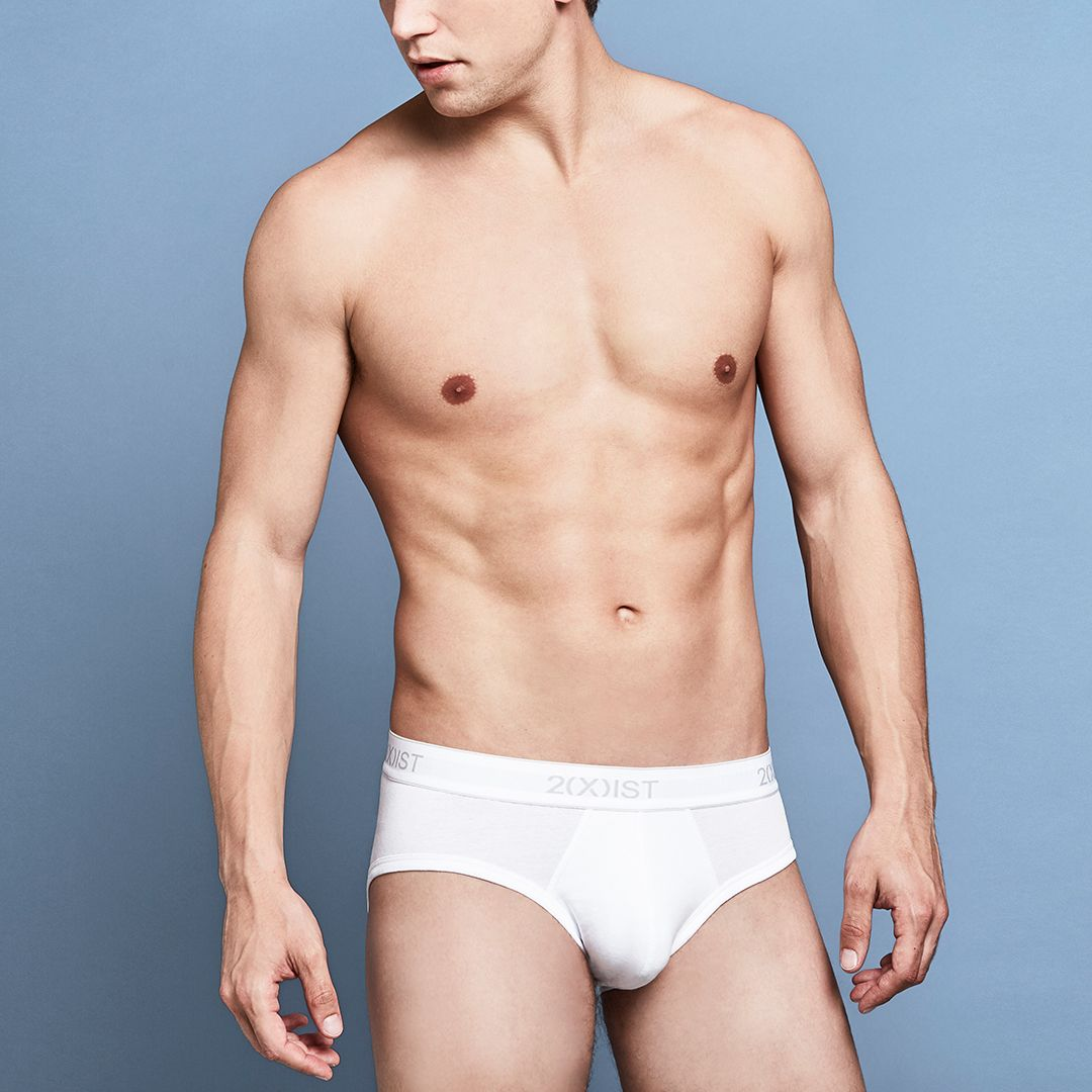 8b0c8924be Pima Contour Pouch Brief White Underwear, Underwear Men, Cotton Style,  Briefs, Contour