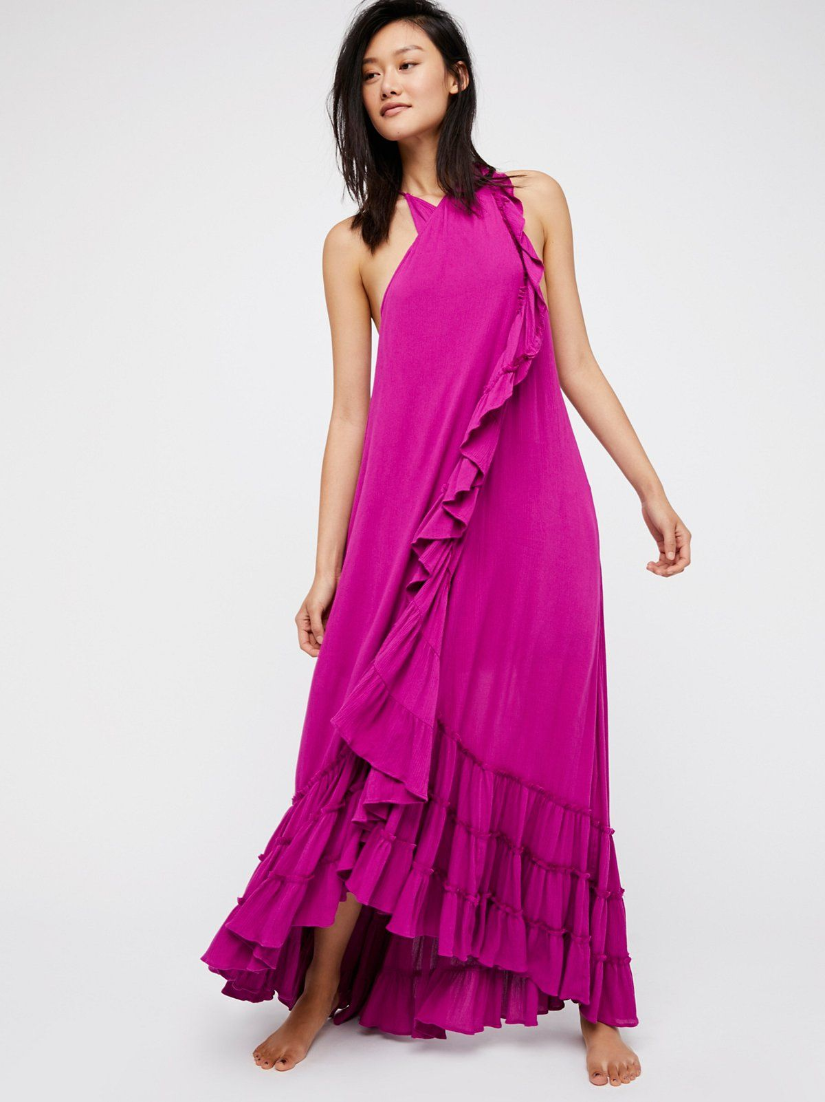 Wrap Around Maxi Dress Maxi Dress Maxi Wrap Dress White Maxi Dress Boho [ 1602 x 1200 Pixel ]