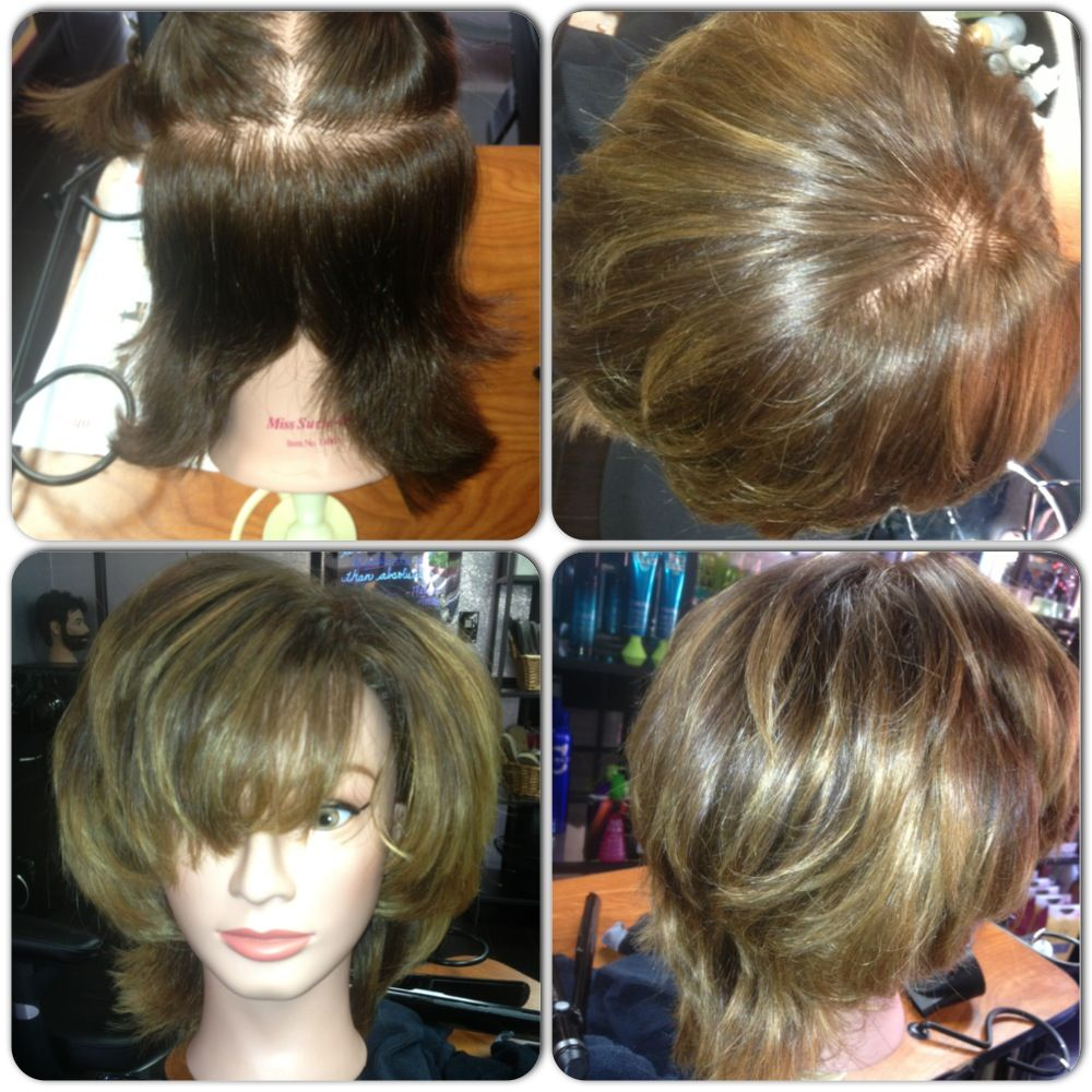 Do you have short hair but still want that #ombre #sunkissed look? Come into SALON DE' DAWN