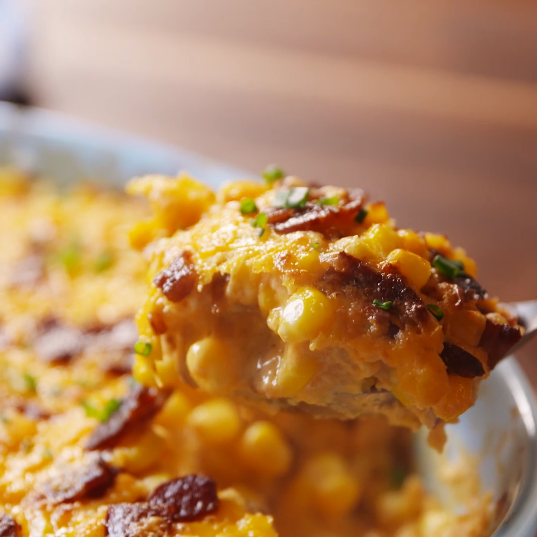 Cheese and corn are a match made in heaven. Get the recipe at .