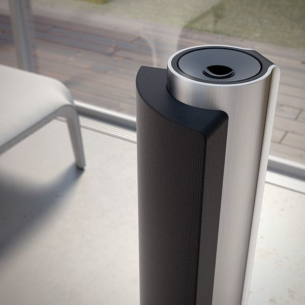 Lg home theater speaker system on behance industrial - Home theater sound system design ...