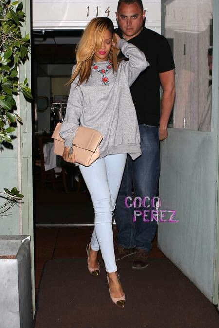 4c43498ad8 Rihanna going OUT! Get The Look