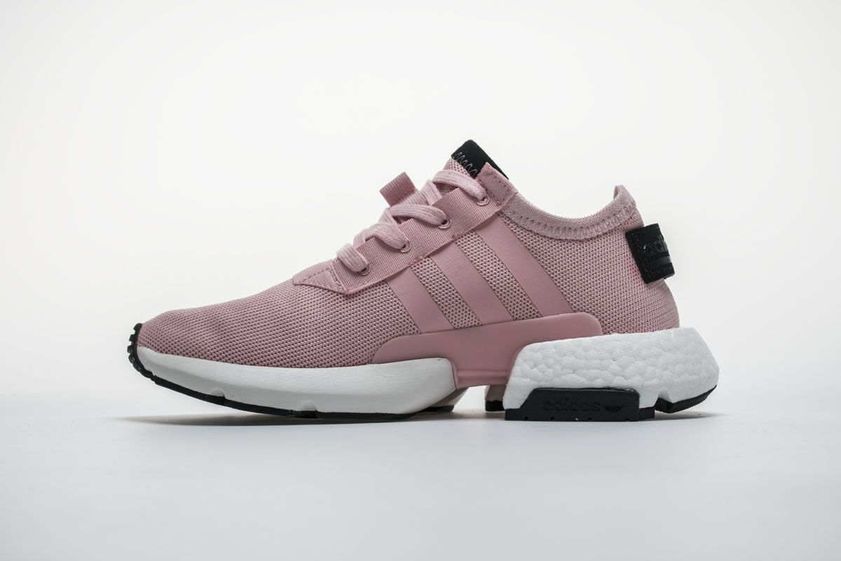 newest 5e4a1 f8512 Adidas POD S3.1 Boost B37468 Pink White Black Girls Shoes The design of the  shoe consists of a NMD-like upper done in mesh placed on top of a sole unit  that ...
