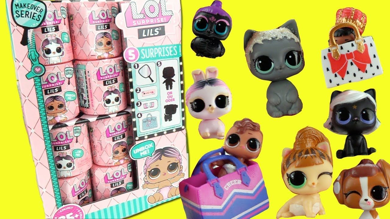 NEW LOL SURPRISE LILS SERIES 2 WITH LIL PETS OR SISTERS 5 SURPRISES INSIDE DOLL