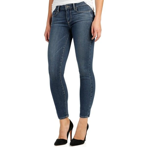 Petite Paige Denim 'Transcend - Verdugo' Crop Ultra Skinny Jeans (€165) ❤ liked on Polyvore featuring jeans, petite, silas, paige denim jeans, paige denim skinny jeans, skinny leg jeans, 5 pocket jeans and paige denim