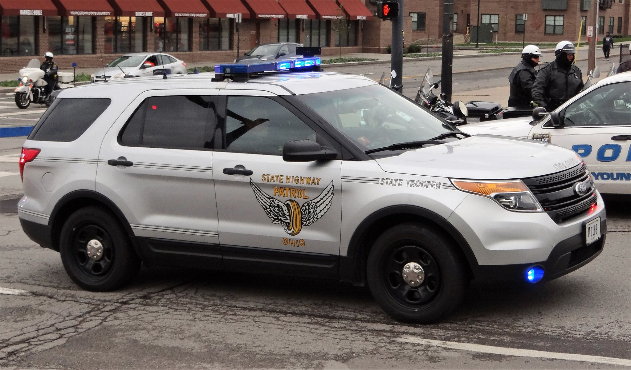 Ohio State Highway Patrol Ford Police Police Truck Emergency Vehicles
