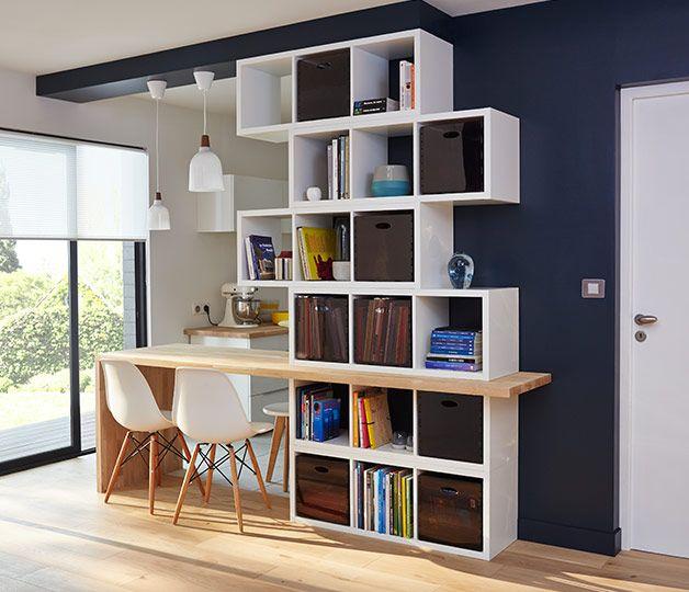 pour faire ressortir le mobilier d 39 une pi ce on mise sur un contraste fort en peignant le mur. Black Bedroom Furniture Sets. Home Design Ideas