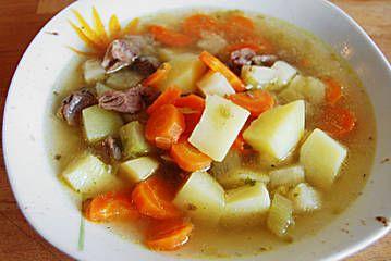 Kartoffel - Rindfleisch - Suppe