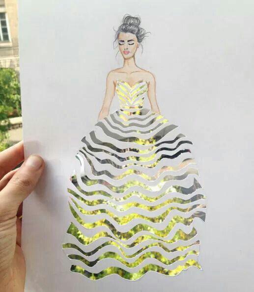 21e01c21d83c Creative fashion designs by Armenian artist Edgar at Drawing Pencil ...