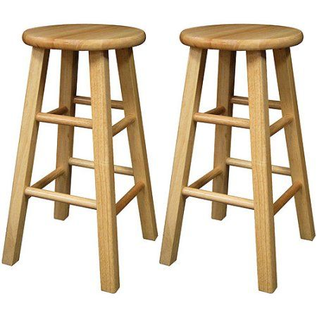 Surprising Winsome Wood Pacey 24 Counter Stool Set Of 2 Natural Ibusinesslaw Wood Chair Design Ideas Ibusinesslaworg