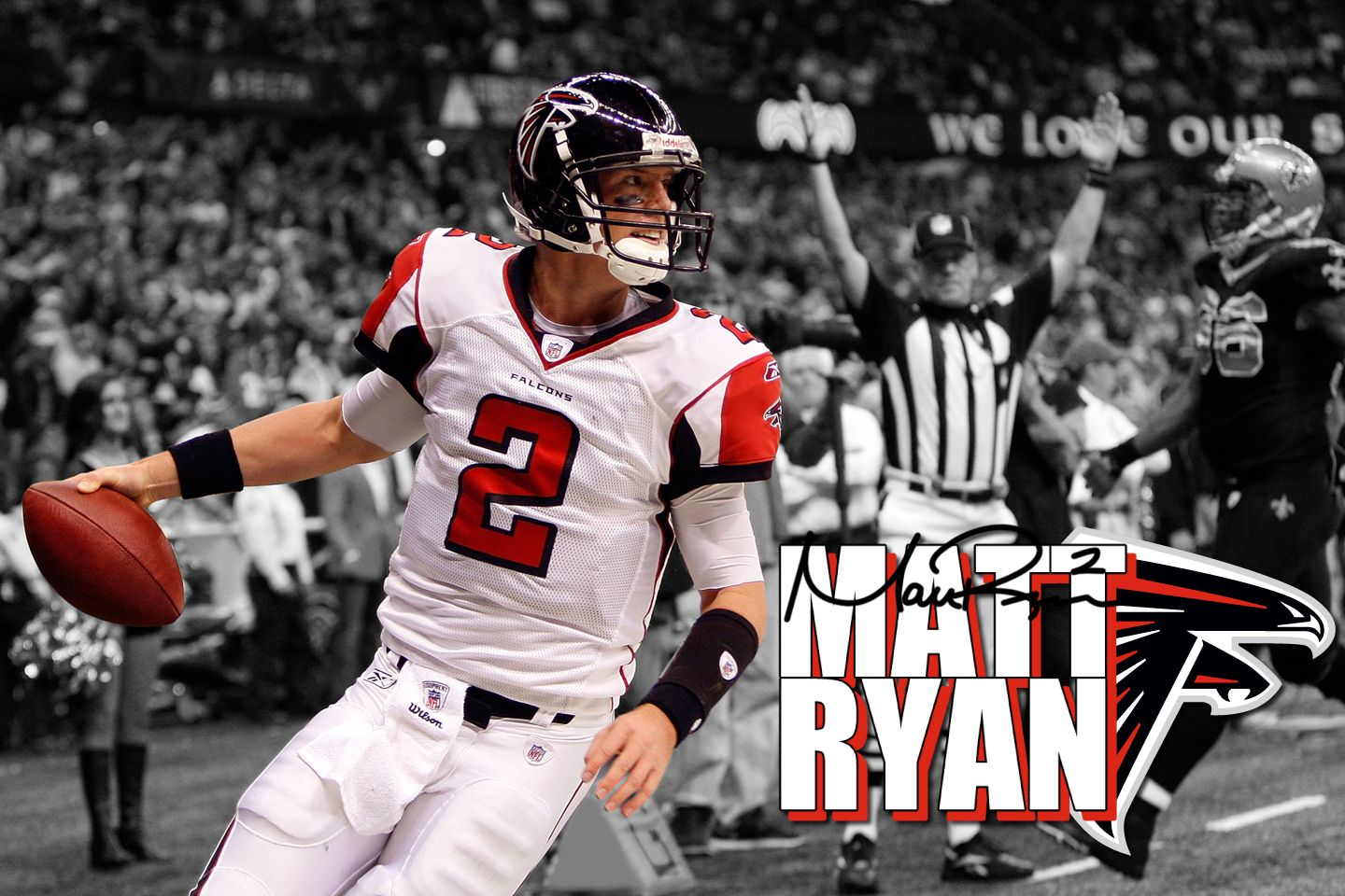 I love football and Matt Ryan football Pinterest