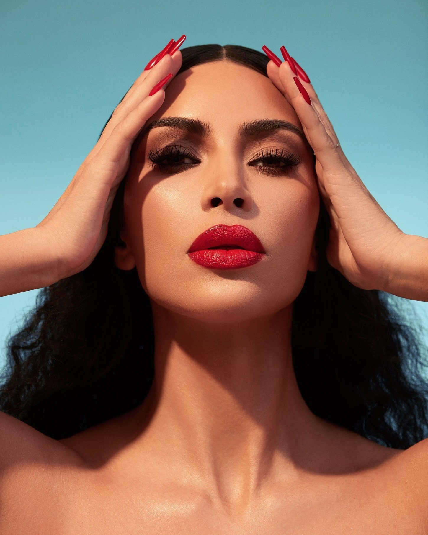 KKW Beauty Launches Its First Classic Red Lipstick on