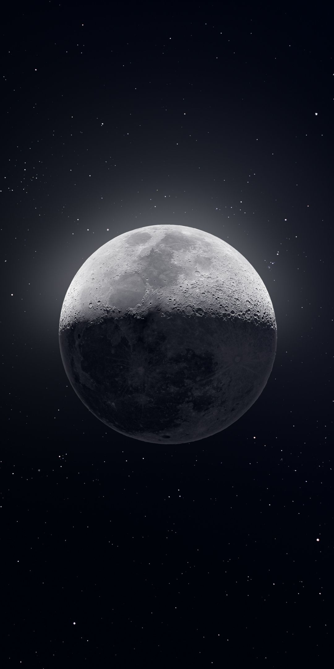 510+Moon, space, art, 21x21 wallpaper   Wallpaper earth, Iphone ...