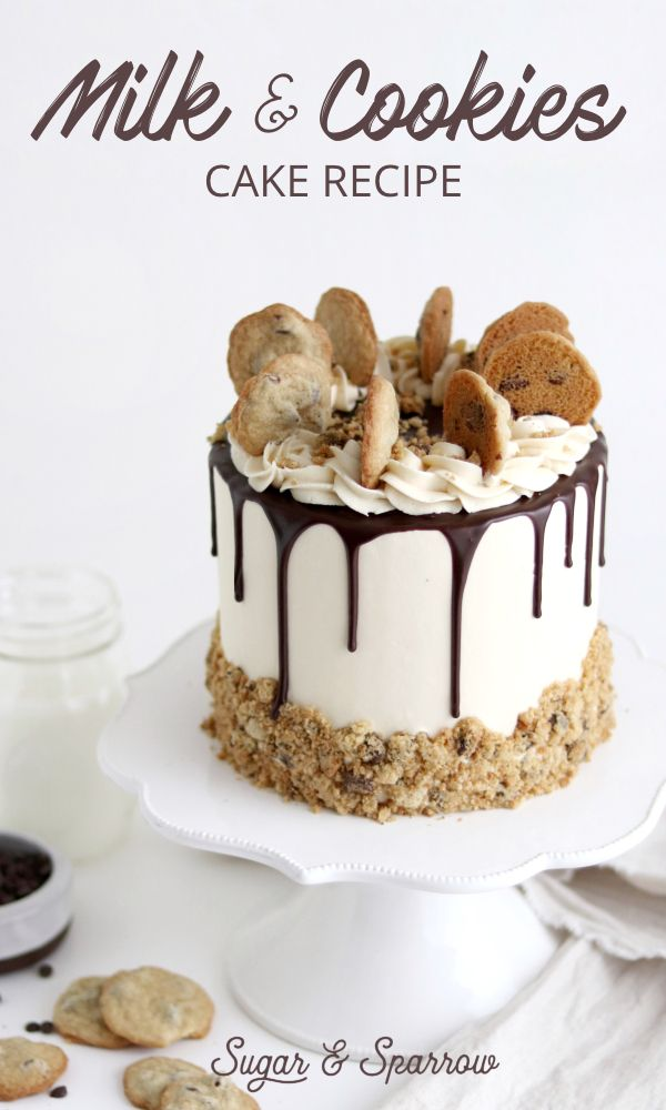 Milk and Cookies Cake Recipe