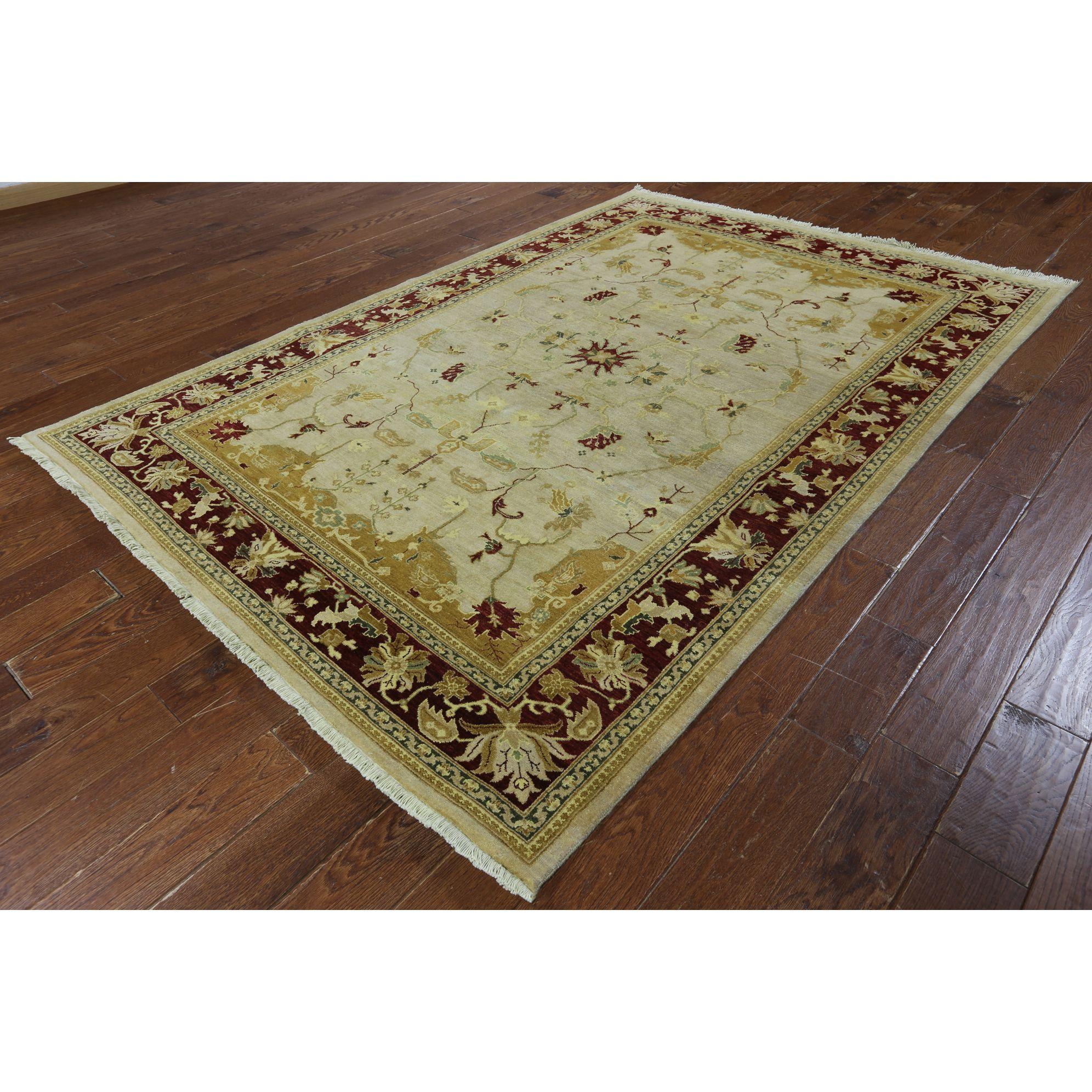 Manhattan handknotted chobi peshawar gold area rug products