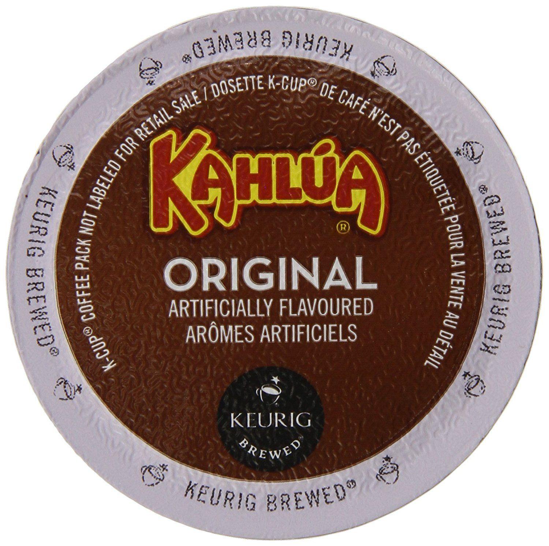 Kahlua original kcup portion pack for keurig kcup