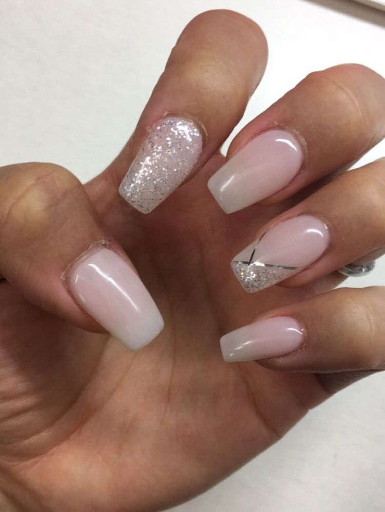 2020 Trendy Nail Designs For Brides In 2020 Wedding Nails Rose Gold Engagement Ring Vintage Hair And Nails