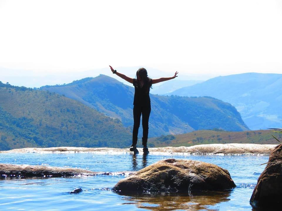 Parte Alta Da Cachoeira Do Juju Em Baependi Mg Oh Minas Gerais