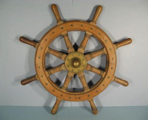 barre a roue gouvernail de bateau barre a roue fr w bauer objets et bibelots pinterest. Black Bedroom Furniture Sets. Home Design Ideas