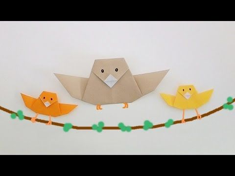 Origami Bird Simple For Beginners