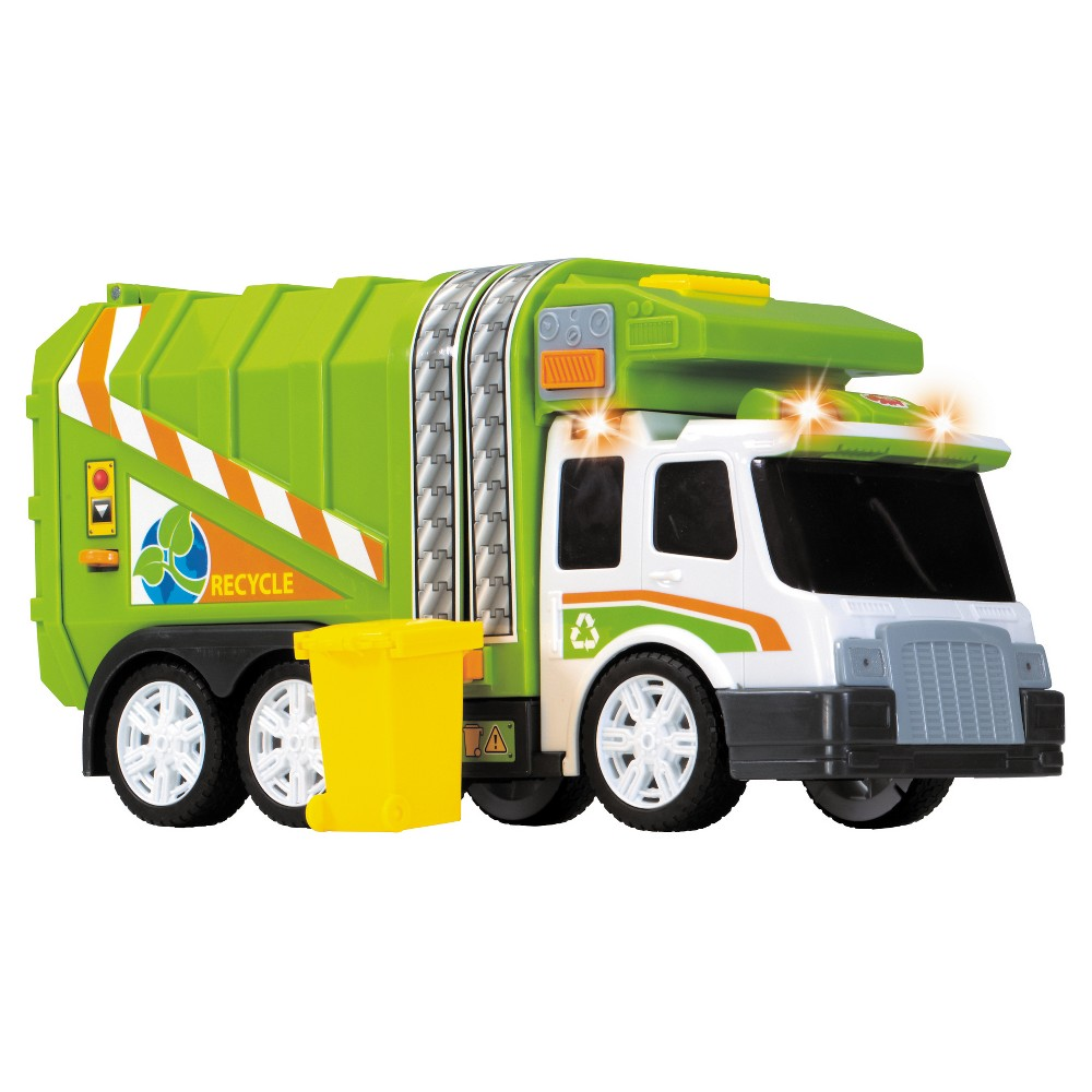 Dickie Toys Large Action Garbage Truck Vehicle Garbage Truck Toy Trucks Toys