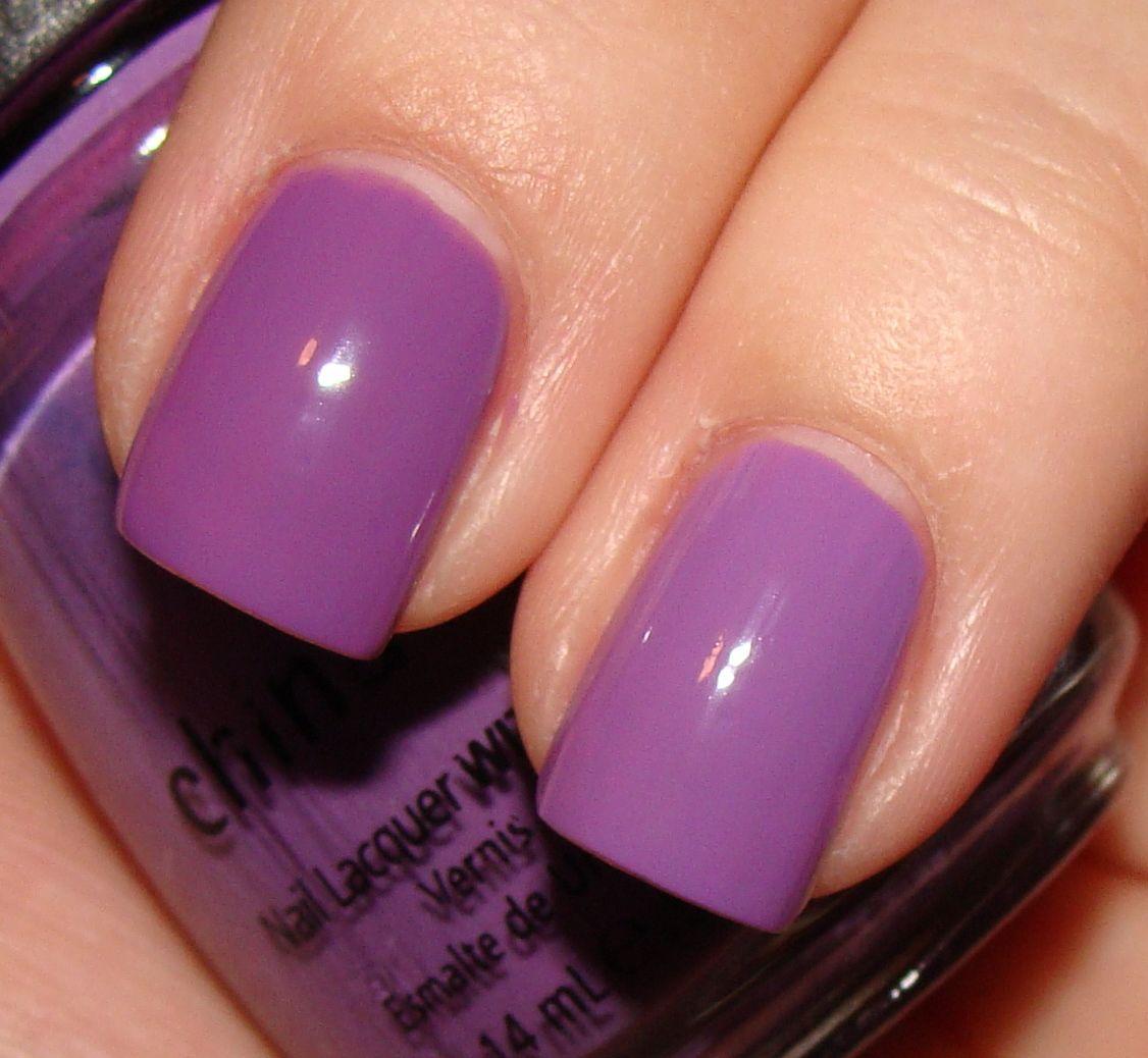 purple nails   Light Purple Nail Polish Comparisons; Featuring OPI ...