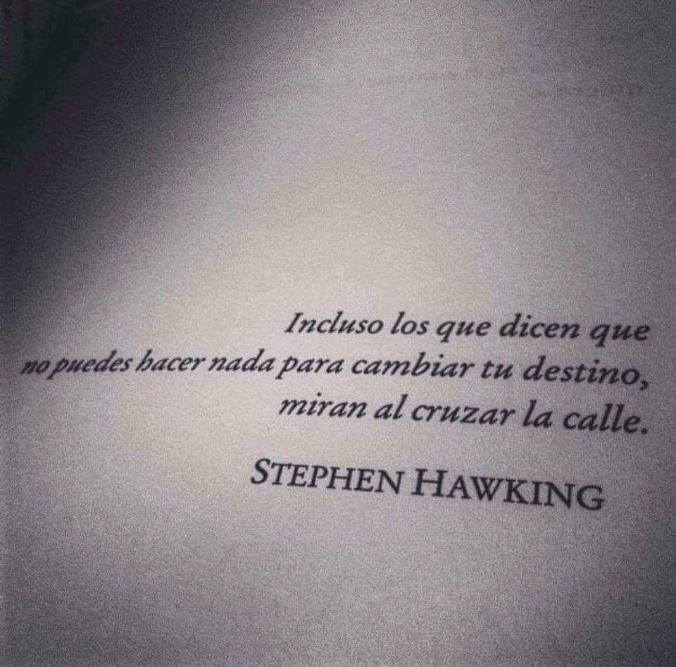 Steve Hawking Literatura Citas Frases Literatura Y