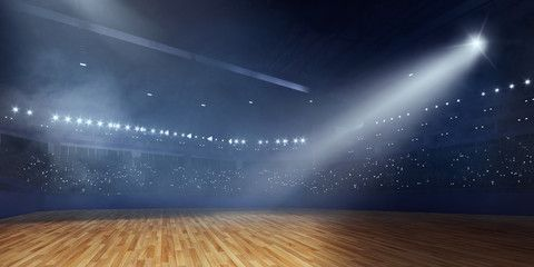 3D arena for ballroom dancing Render 3d